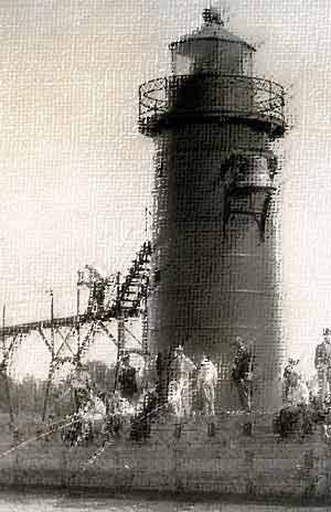 Lighthouse Contest – Create a work about our South Haven Lighthouse Heritage. You could win fame and a $100 Prize!