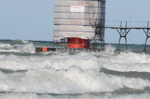 High Waves on the Big Lake